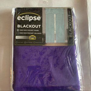 New eclipse purple black out panel curtain